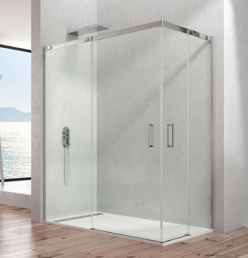 Limpiar mampara de cristal good cmo limpiar las mamparas de la ducha with limpiar mampara de - Como limpiar la mampara de la ducha ...